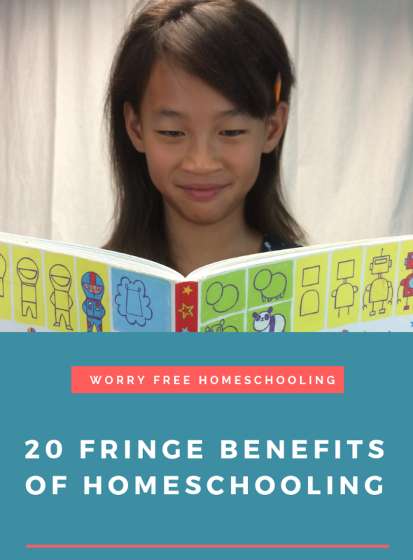 20 Fringe Benefits of Homeschooling