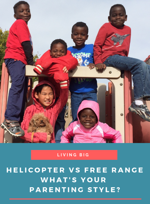 Helicopter vs. Free Range Parenting: What's Your Style