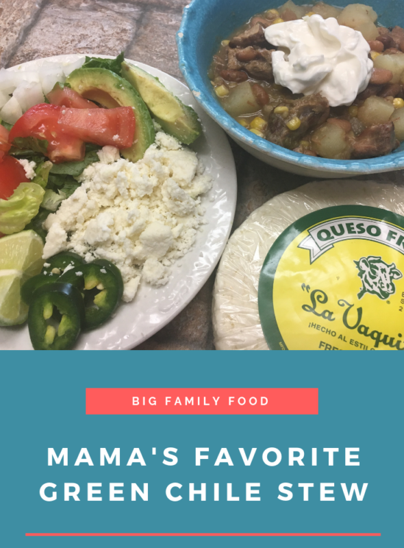 Mama's Favorite Green Chile Stew