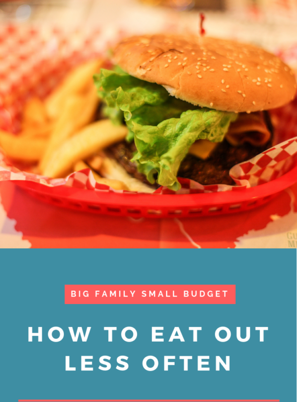 How To Eat Out Less Often