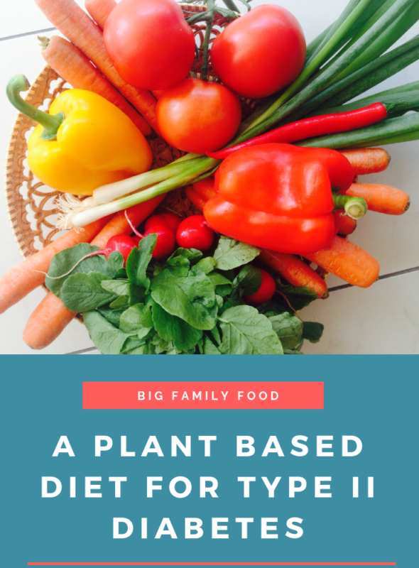 A Plant Based Diet For Type II Diabetes