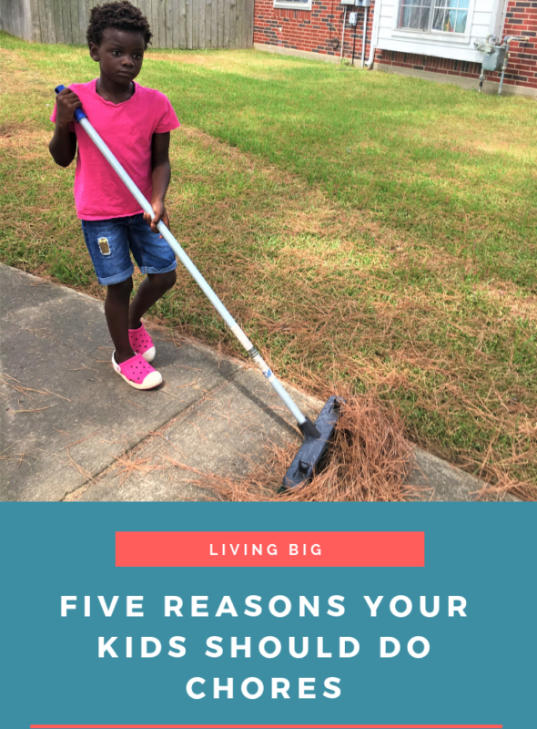 Five Reasons Your Kids Should Do Chores