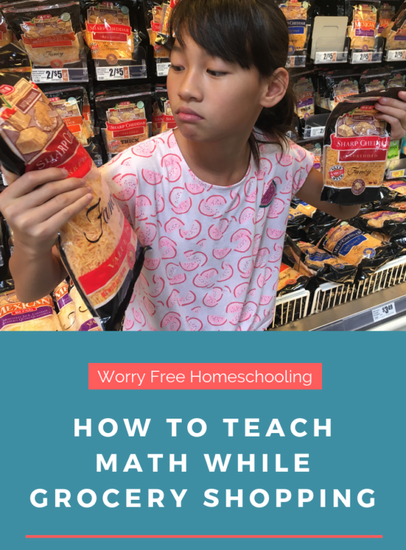 How to Teach Math While Grocery Shopping