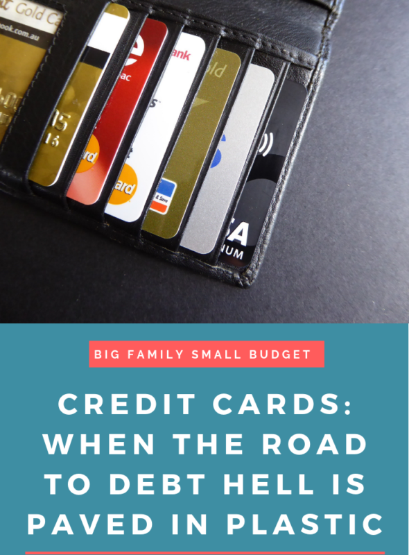 Credit Cards: When The Road To Debt Hell Is Paved With Plastic