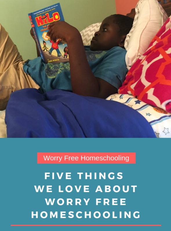 Five Things We Love About Worry Free Homeschooling