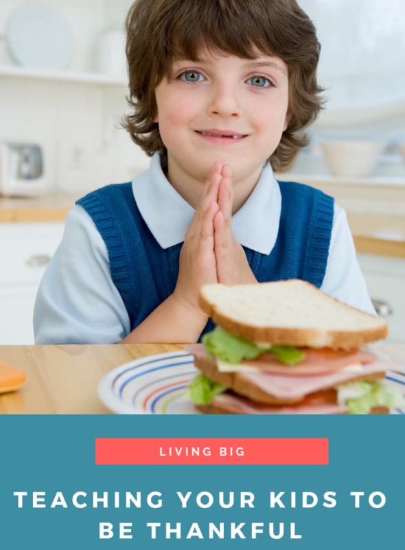 Teaching Your Kids To Be Thankful