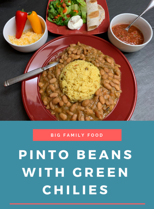 Pinto Beans With Green Chilies