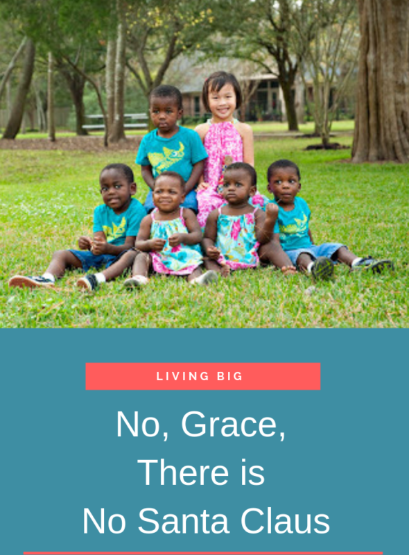 No, Grace, There is No Santa Claus