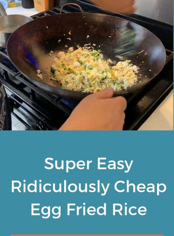 Super Easy Ridiculously Cheap Egg Fried Rice