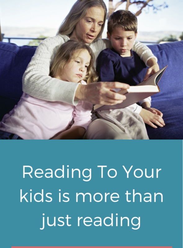 Reading To Your Kids Is More Than Just Reading