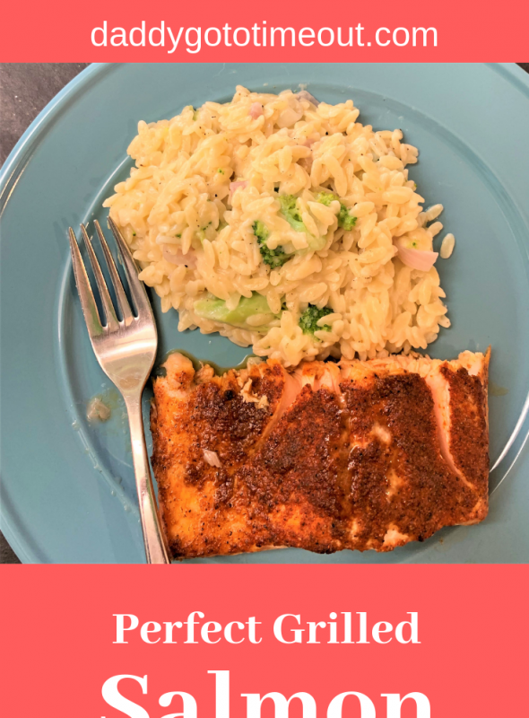 Perfect Grilled Salmon