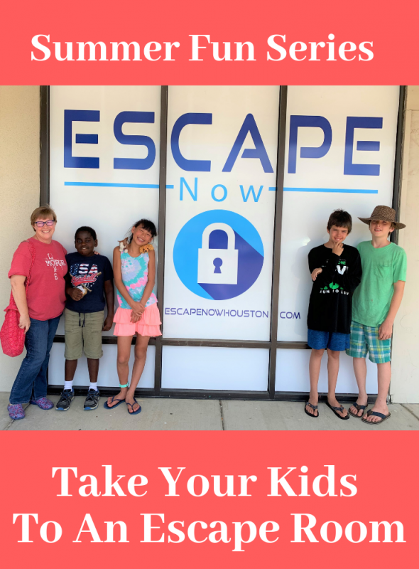 Take Your Kids To An Escape Room