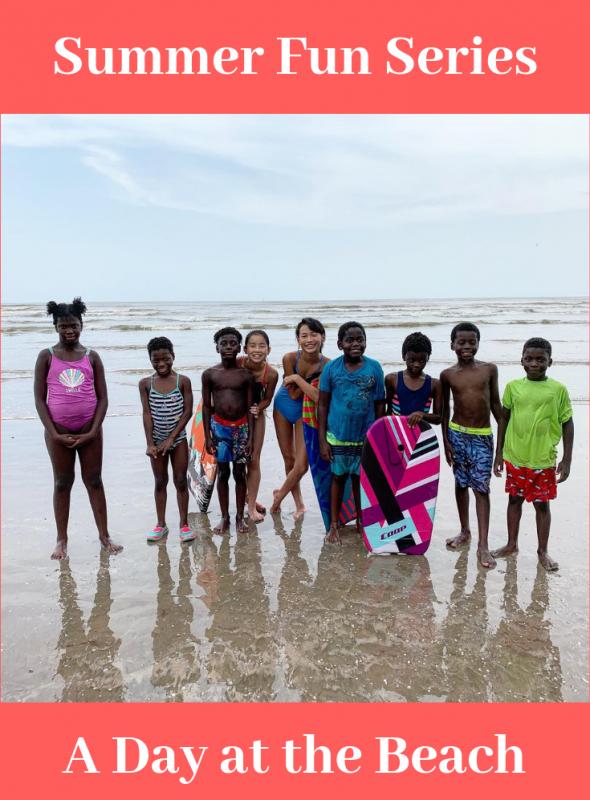 Summer Fun Series: A Day at the Beach