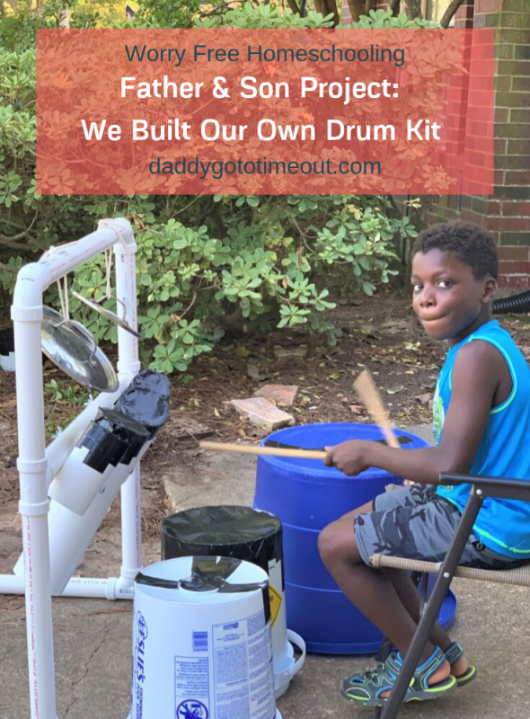 Father & Son Project: We Built Our Own Drum Kit!